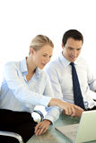 Managers working together Royalty Free Stock Photography