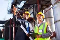 Managerseniorarbeitskraft Lizenzfreies Stockbild