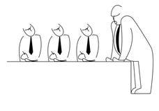 Managertreffen Stockbilder