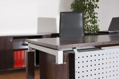 Manages desk in a office Royalty Free Stock Photography