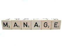 Managez Image stock