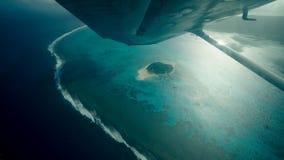 Managha Island. The aerial photograph of the managha island Stock Photos