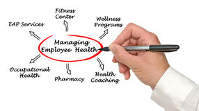 Managing Employee Health Royalty Free Stock Image