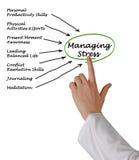 Managing Stress Royalty Free Stock Photo