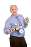 Managing time royalty free stock photo