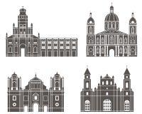 Managua. Set stock illustration