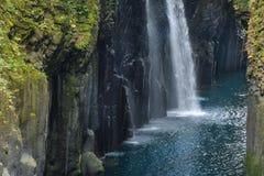 Manai Fall, Miyazaki, Japan stock images