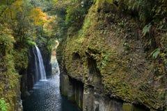 Manai Fall, Miyazaki, Japan royalty free stock photo