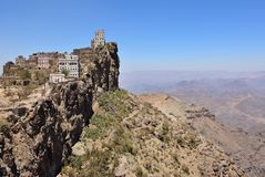 Manakhah, Jebel Haraz mountains, Yemen Stock Photography
