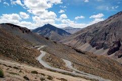 Manali à estrada de Leh Imagens de Stock