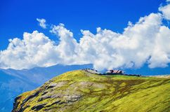 Natural beauty at mountain. Manali in an India Stock Photography