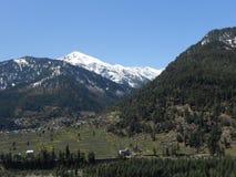 Manali kullestation, nära Kullu, Rohtang passerande, Himanchal Pradesh, Indien Royaltyfri Bild