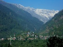Manali landscape Stock Photography