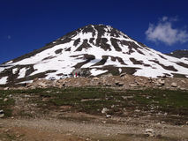 Manali - Leh, Ladakh huvudvägväg Indien Fotografering för Bildbyråer