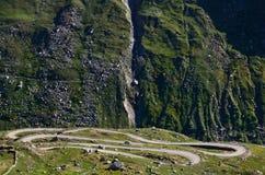 Manali-Leh road. The high altitude Manali-Leh road in Lahaul valley in the Indian state of Himachal Pradesh in Indian Himalayas Royalty Free Stock Image
