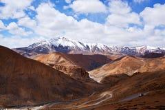 Manali - Leh road in Ladakh, India Stock Images
