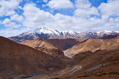 Manali - Leh road in Ladakh, India Royalty Free Stock Photos