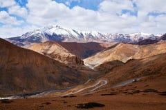 Manali - Leh road in Ladakh, India Stock Photography