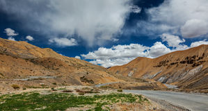 Manali-Leh road Royalty Free Stock Images