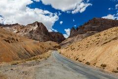 Manali-Leh road Stock Photo
