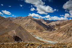 Manali-Leh road Royalty Free Stock Photos