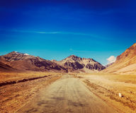 Manali-Leh road Royalty Free Stock Photography