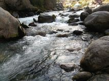 Manali, rio de Beas Fotografia de Stock Royalty Free