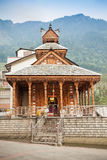 Manali temple Royalty Free Stock Photo