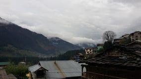 Manali un jour pluvieux Photo libre de droits