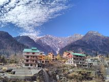 Manali, Uttarakhand, Índia imagem de stock