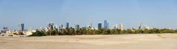 Manama, Bahrain skyline panorama Stock Images