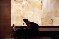 Piano a solas de Zade Dirani en Bahrein Fotografía de archivo libre de regalías