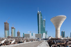 Manama Financial Harbour, Bahrain Stock Image