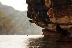 Manambolo River rocks Royalty Free Stock Photography