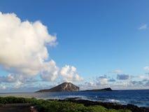 Manana-Insel und Kaohikaipu-Insel sind auf dem Windward lizenzfreie stockbilder