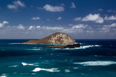 Manana Island, Oahu Royalty Free Stock Photos