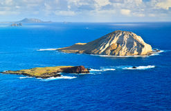 Manana Island (Rabbit Island), Oahu Hawaii Stock Images