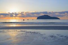 Manao zatoka Obrazy Royalty Free