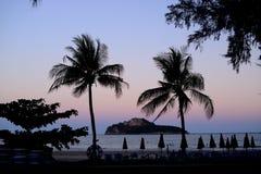 Manao zatoka Zdjęcia Stock