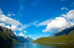 manapouri озера Стоковая Фотография