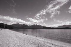 Manapouri, New Zealand Stock Images