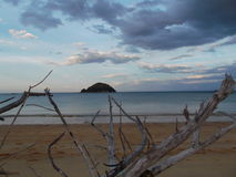Manapouri See in Neuseeland Lizenzfreies Stockbild