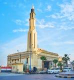 Manar El Islam Mosque, Alexandría, Egipto fotografía de archivo