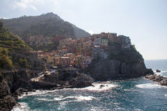 manarola της Ιταλίας Στοκ φωτογραφία με δικαίωμα ελεύθερης χρήσης