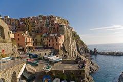 manarola Италии стоковые фото