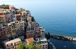 manarola Италии Стоковое Изображение RF