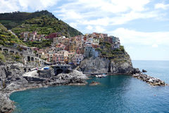 Manarola Stockfotos