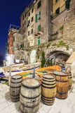 Manarola architecture Royalty Free Stock Photo