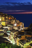Manarola architecture Royalty Free Stock Photos