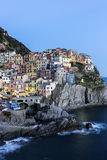Manarola in Cinque Terre in Italy Royalty Free Stock Photos